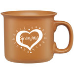 MUG - DUG 14oz GRANDMA - TERRACOTTA