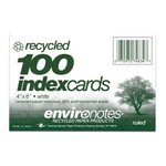INDEX CARDS 4X6 RULED