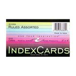 INDEX CARD 3X5 COLORED
