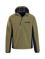 MCKINLEY HOODED SOFT-SHELL JACKET