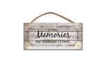 WOOD SIGN - MAKE MEMORIES