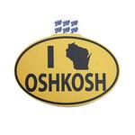 DECAL B84 - I WI OSHKOSH