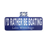 DECAL B84 - RATHER B BOATING