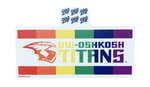 DECAL B84 - TITANS PRIDE RIBBON