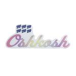DECAL B84 - OSHKOSH WATERCOLOR