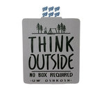 DECAL B84 - THINK OUTSIDE