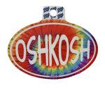 DECAL B84 - OSHKOSH TIE DYE