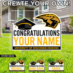CDI NAME GRADUATION LAWN SIGN