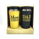 TUMBLERS DOUBLE SET MOM & DAD
