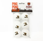 PING PONG BALLS 6PK - TITANS