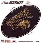 CAR MAGNET - UWO TITANS BLK