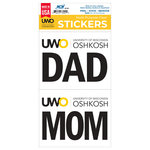 DECAL - UWO MOM & DAD