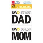 DECAL - UWO MOM & DAD