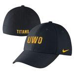 SWOOSH FLEX BLACK CAP