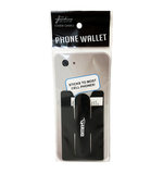 PHONE WALLET - BLK w/STAND