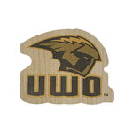 DECAL - WOOD PENNANT