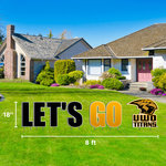 CDI LET'S GO TITANS LAWN SIGN