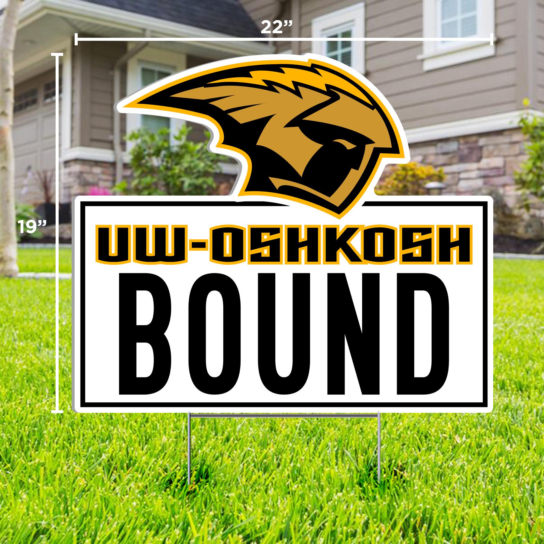 UWO Bound Lawn Sign