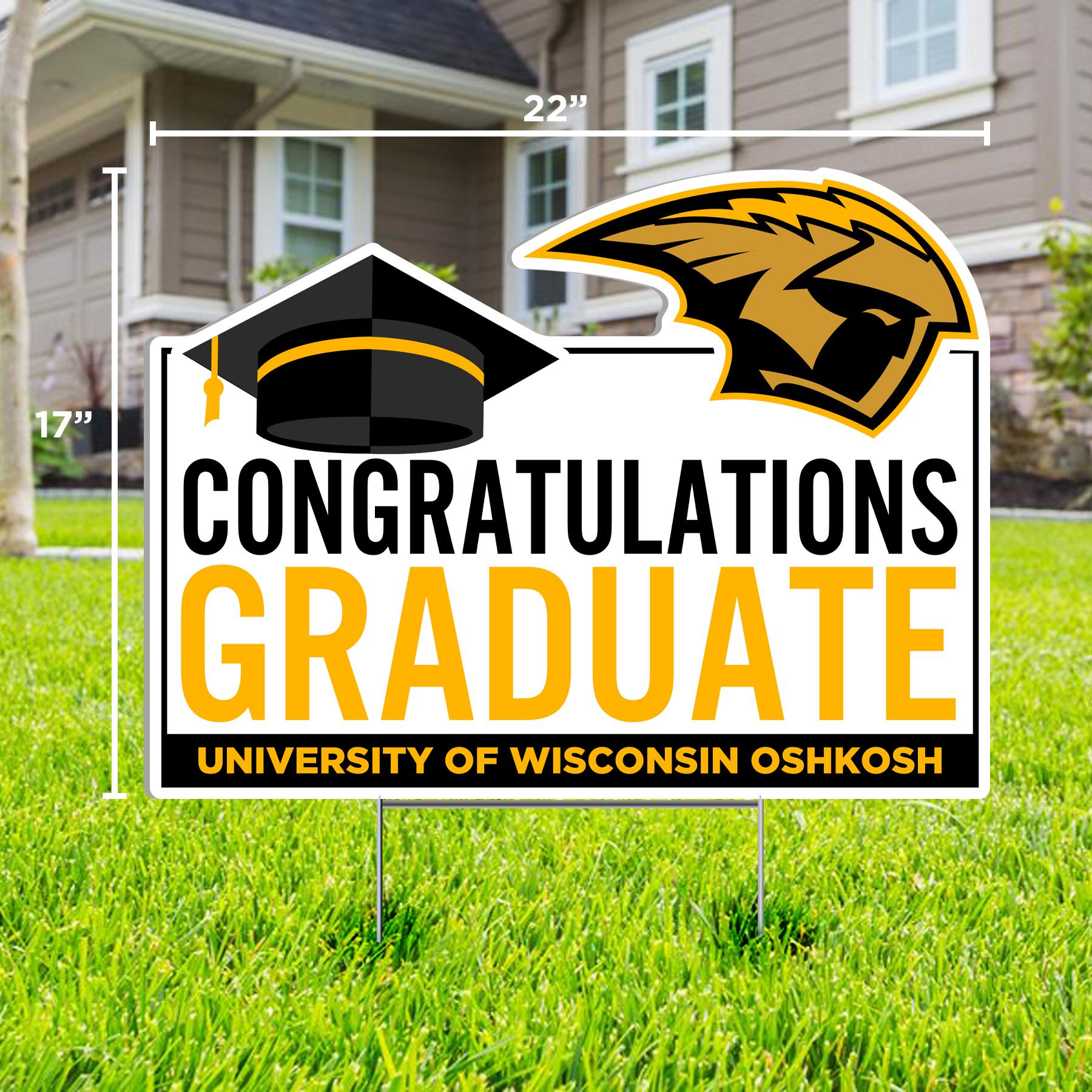 Congrats Grad Lawn Sign