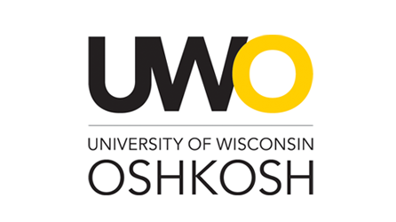 UWO text, University of Wisconsin Oshkosh
